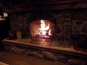 feu foyer salon